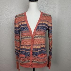 Rubbish Cardigan Sweater Size Large